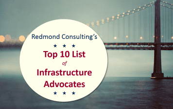 Top 10 List of Infrastructure Advocates